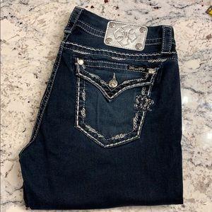 Miss Me Jeans bootcut Jeans EUC Size 32
